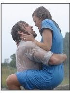 """The Notebook"" Movie Still: Ryan Gosling and Rachel McAdams"