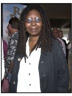 Whoopi Goldberg at the Rat Race premiere