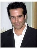 David Copperfield...at the launch party for TriggerStreet.com