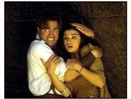 The Mummy Returns movie still: Brendan Fraser and Rachel Weisz