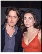Elizabeth Hurley and Hugh Grant