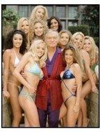 Girl Next Door: The Search for a Playboy Centerfold TV still: Hugh Hefner and ten lovelies