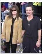Eddie Van Halen and Valerie Bertinelli at the America's Sweethearts premiere
