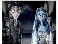 Corpse Bride Movie Stills: Johnny Depp and Helena Bonham Carter