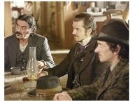 HBO's <I> Deadwood </I> the Series Photos: Ian McShane, Timothy Olyphant and John Hawkes