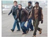 Four Brothers Movie Stills: Garrett Hedlund, Mark Wahlberg, Tyrese Gibson and Andre Benjamin