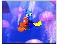 """Finding Nemo"" Movie Still: Marlin and Dory"
