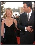 61st Annual Golden Globe Awards---HFPA---Jane Fonda with son Troy Garity