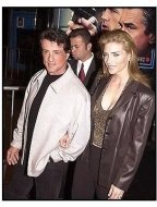Sylvester Stallone and wife at the 15 Minutes premiere