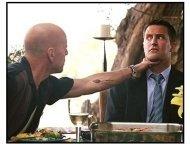 """The Whole Ten Yards"" Movie Still: Bruce Willis, Matthew Perry"