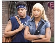 """""""Barbershop 2: Back in Business"""" Movie Stills:Mike Ealy and Eve"""