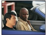 """Cradle 2 the Grave""  Movie Still: Jet Li and DMX"