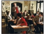 The Emperor's Club movie still: Professor William Hundert (Kevin Kline) engages his students in a lively discussion of the classics in The Emperor's Club