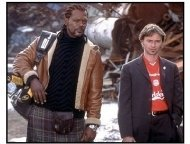 Formula 51 movie still: Samuel L. Jackson as Elmo McElroy and Robert Carlyle as Felix DeSouza in Formula 51