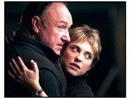 Heist movie still: Gene Hackman and Rebecca Pidgeon