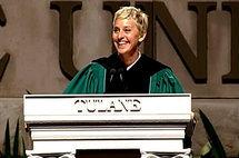 Ellen DeGeneres, Tulane Commencement Speech 2009