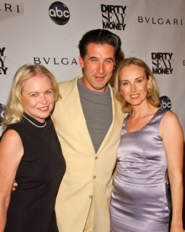 Michelle Phillips with William Baldwin and Chynna Phillips