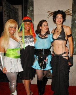 Ms. Limelight and Braid with Hygena and Basura