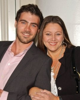 Michael Newcomer and Camryn Manheim