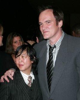 Sidney Mah and Quentin Tarantino