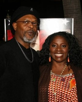 Samuel L Jackson and LaTanya Richardson