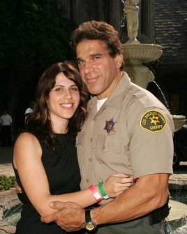 Lou Ferrigno and daughter Shanna