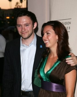 Nathan Corddry and friend