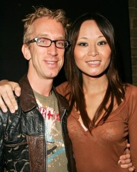 Andy Dick and Helen Wong