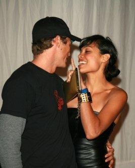 Jason Lewis and Rosario Dawson