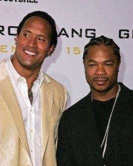 Dwayne Johnson and Xzibit