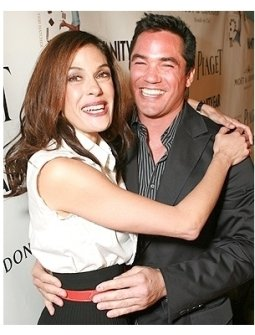 "Teri Hatcher's Book ""Burnt Toast and Other Philosophies of Life"" Party:  Teri Hatcher and Dean Cain"