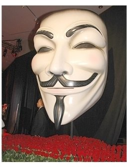 V for Vendetta Premiere Photos: Mask from V for Vendetta