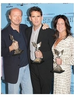 Independent Spirit Awards Press Photos:  Paul Haggis, Matt Dillon and Cathy Schulman