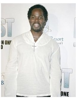 Lost Season 1 DVD Release Party Photos:  Harold Perrineau