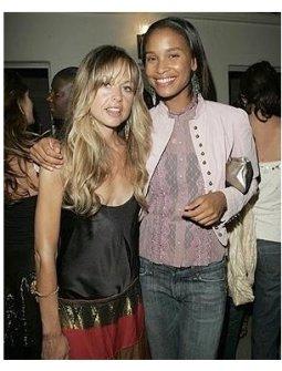 Lucky Magazine Party Photos:  Rachel Zoe and Joy Bryant