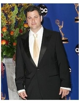 Jimmy Kimmel backstage at the 2004 Emmy Awards