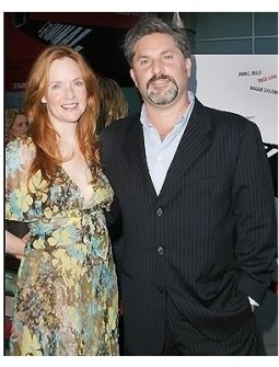 Director Gregory Jacobs and wife Heather at the Criminal Premiere