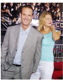 """Peter Berg and Estella Warren at the """"Collateral"""" premiere"""