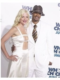 James King and Damon Wayans at the <I>White Chicks</I> Premiere