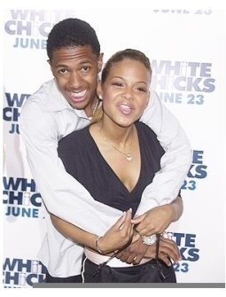 Nick Cannon and Christina Milian at the <I>White Chicks</I> Premiere