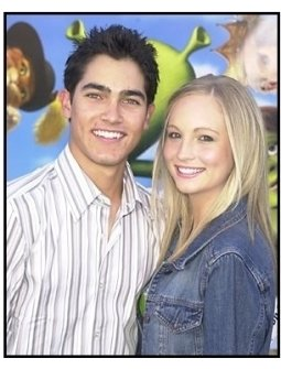 "Tyler Hoechlin and friend Candace at the ""Shrek 2"" Premiere"