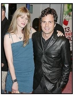"Sunrise Coigney and Mark Ruffalo at the ""13 Going On 30"" Premiere"