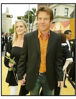 """Dennis Quaid and date arrive for """"The Alamo"""" Premiere"""