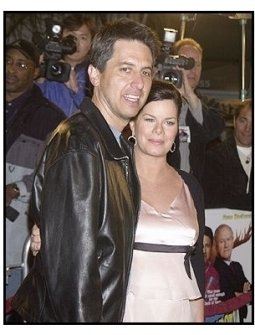 """Ray Romano and Marcia Gay Harden at the """"Welcome to Mooseport"""" Premiere"""
