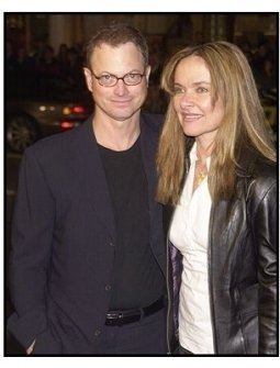 """Gary Sinise and wife Moiraat """"The Big Bounce"""" premiere"""