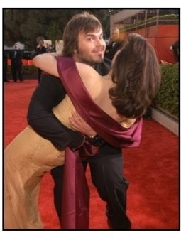 61st Annual Golden Globe Awards--Red Carpet--Jack Black--HFPA--ONE TIME USE ONLY