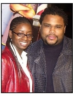"Anthony anderson and wife Alvina at the ""Barbershop 2: Back in Business"" premiere"