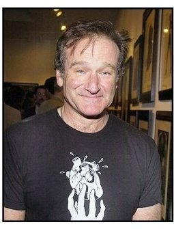 Robin Williams at Tanqueray No. TEN's preview of the Herb Ritts memorial collection/ONE TIME USE ONLY