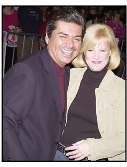 """Geroge Lopez and Bonnie Hunt at """"The Haunted Mansion"""" Premiere"""