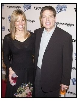 """David Zucker and wife Danielle at the """"Scary Movie 3"""" premiere"""